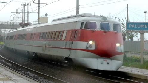 意大利高速摆式列车,摇摆起来真拉风,高速压弯根本不在话下
