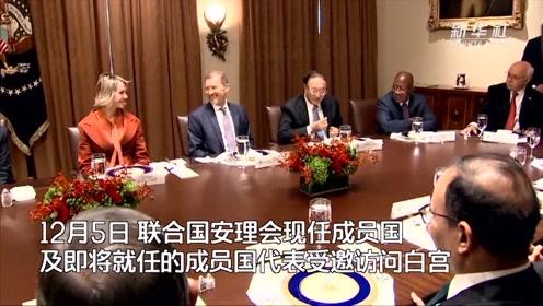 联合国安理会成员国代表的白宫之行
