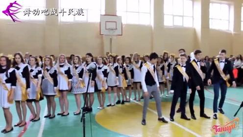 """都说16岁是乌克兰女孩的""""颜值巅峰""""!女中学生跳舞的样子让人难忘"""