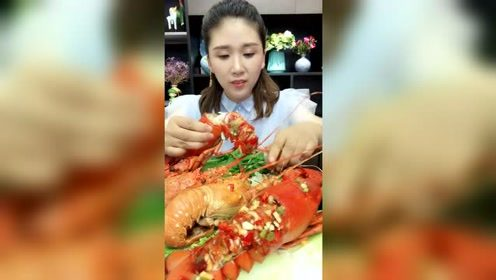 这样的蒜蓉小龙虾见过吗