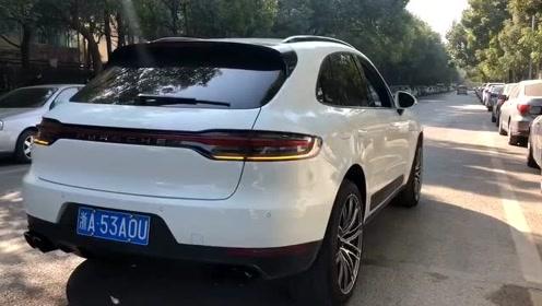 2019款保时捷Macan安装原厂运动排气,效果跟老款3.6没什么区别