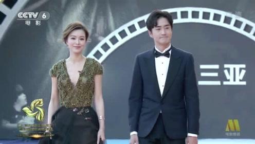 演员文咏珊、杨玏一同出席海南岛国际电影节,郎才女貌搭配吸睛!