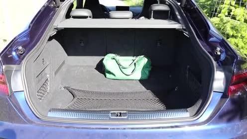 后排空间体验评测,奥迪 RS 5 Sportback