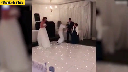 新娘子是我!女子闯进婚礼大嚷搅局纠缠新郎 真相让人捧腹大笑