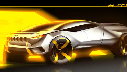 或纯电驱动 Jeep设计师打造Cottoni皮卡