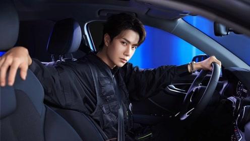 王一博开车不好好坐,看他脚放在哪里?别的司机可没这样坐的