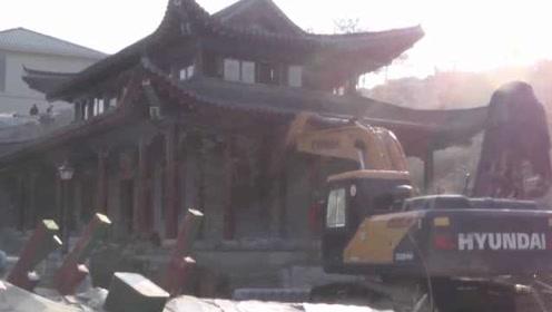 国土部门回应邵东豪宅被拆:主体获批未拆,房主正协助调查