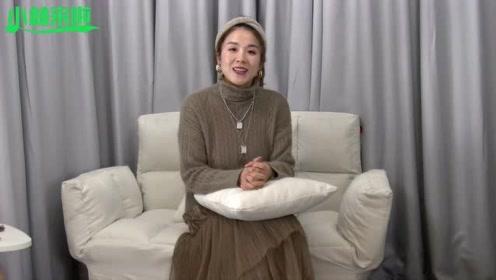 简单毛衣配纱裙,休闲女人,你喜欢吗?