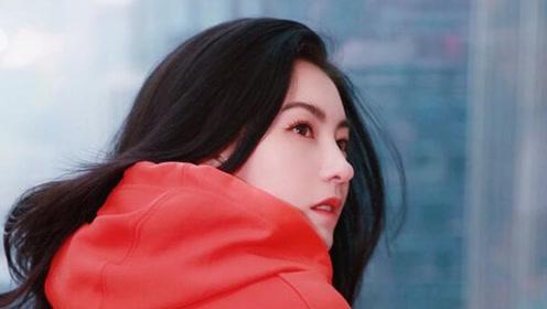 张柏芝红色卫衣写真美回少女 甜笑回眸杀撩人十足
