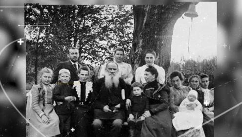 学霸缪斯?托尔斯泰妻子结婚48年生13个孩子,《战争与和平》抄了七八遍