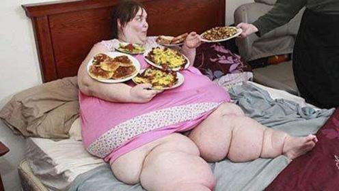 重达860斤的胖姑娘,为生孩子狠心减下250斤,如今变啥样?