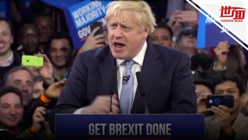 """英国大选保守党获胜!首相鲍里斯将再上台助力""""脱欧"""""""