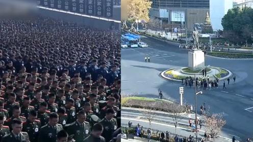 防空警报拉响!南京大屠杀死难者国家公祭日:全城市民默哀一分钟