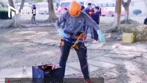 四川大学热门攀树课程下学期继续开展,网友:建议全国大学推广