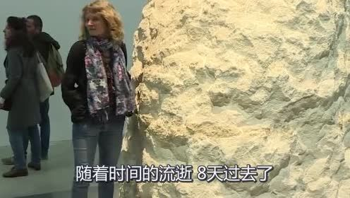 法国行为艺术家!将自己关在石头内8天!网友:想变成孙悟空?!