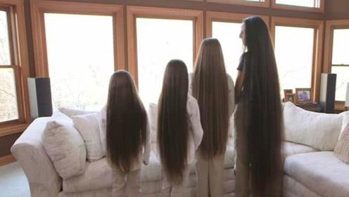 乌克兰的传统家族,女性出生从不剪头发,洗发店拒绝给她们洗头!