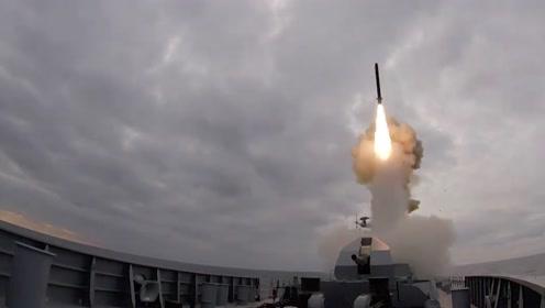 """137秒闪击250公里!俄军自曝""""口径""""巡航导弹作战画面"""