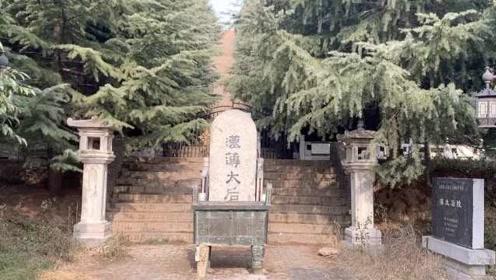 西汉薄太后陵因管护不力被盗,周边荒芜村民放羊