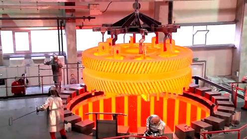 惊人的机械加工过程!高端的生产技术令人敬畏
