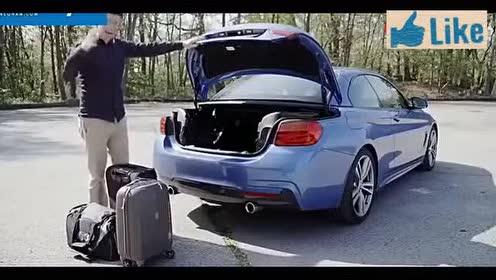 2014款宝马4系敞篷跑车试驾!体验不一样的敞篷!