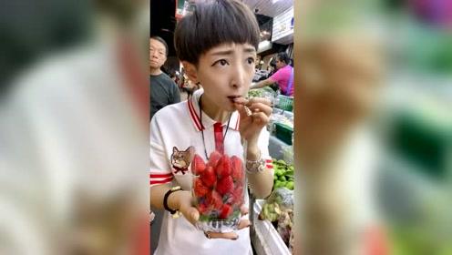 泰国人吃芒果都喜欢吃酸的!