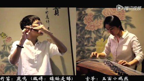古筝、竹笛《弹起我心爱的土琵琶》好听!