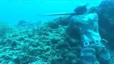 水底捕鱼,菲律宾卡加延圣安娜Palaui岛