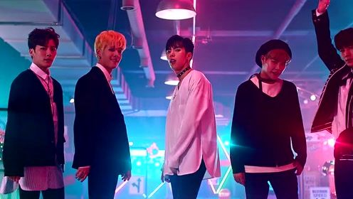 男团IMFACT《TensionUp》 完整版MV 舞蹈很棒