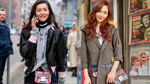 唐嫣刘雯乔欣抢着背 轻奢包才是时髦扛把子