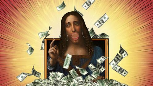价值30亿的最贵名画《救世主》告诉你,拯救世界的是人不是神!