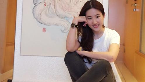 神仙姐姐刘亦菲回归电视剧 新年第一部戏就搞大事