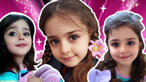 """8岁女孩被封""""全球最美女孩"""",爸爸辞职做保镖"""