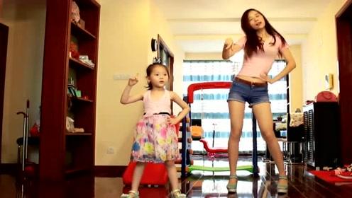 王心凌《HONEY》广场舞,小女孩也跳的很不错,有功底