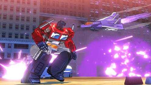 变形金刚毁灭救援机器人 01期 擎天柱对决大力神