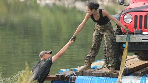越野8关最新预告 美女为闯关不惜下河全身泡水老司机有绝招