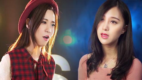两位美女对唱《广东十年爱情故事》一开口就流泪了 唱哭无数人