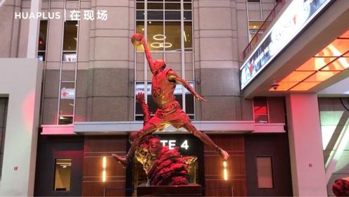 乔丹老东家芝加哥公牛为庆春节,特地请这家艺术团献上中场表演