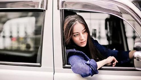 刘亦菲开法拉利热巴面包车 明星玩车赵丽颖最有派头