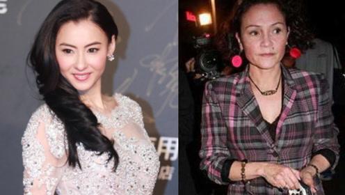 张柏芝的传奇母亲,因拍戏母女决裂,四婚四离曾大骂谢霆锋!