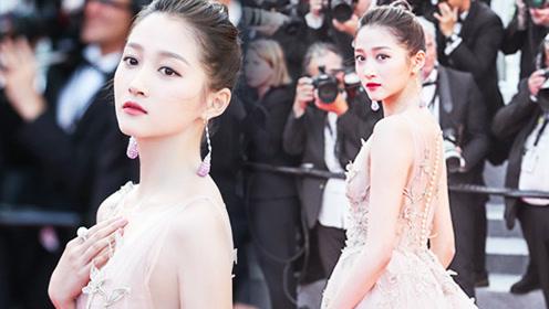 关晓彤自曝走红毯淡定秘诀 这强大的心理暗示不愧是京城最beauty