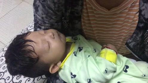 这算隔代亲吗?宝宝哭的抱不住,奶奶抱着一拍就睡