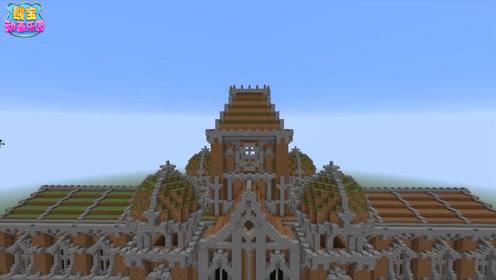 我的世界建筑大挑战 只用泥土和圆石也能造出壮观城堡