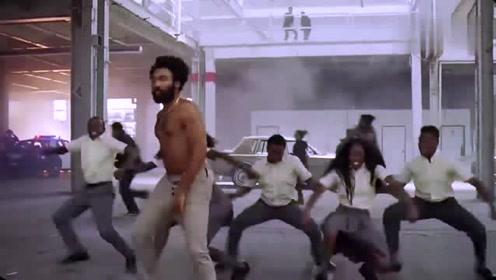 白搭《This Is America》舞蹈了解一下