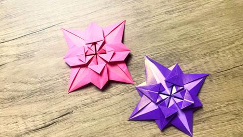 折纸剪花朵图片步骤制作方法