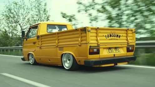 大众面包车改成小货车!