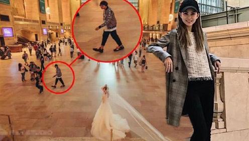 美国拍婚纱与周杰伦意外同框 昆凌小周周也惊喜现身