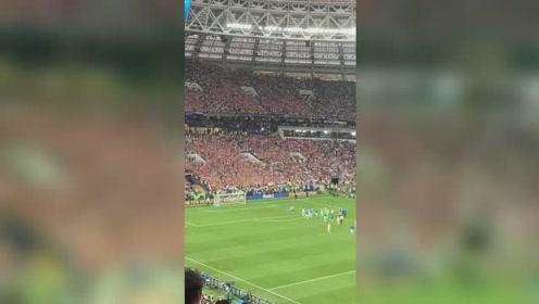 本届世界杯亚军克罗地亚谢场