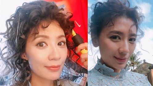 44岁的贾静雯换新发型像换头,网友:太显老像包租婆!