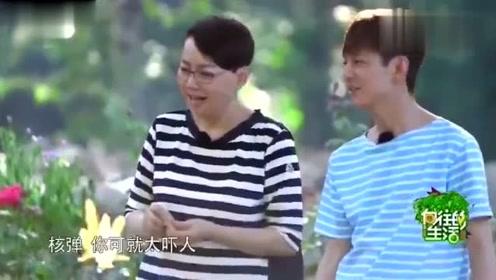 何炅名字的由来就够搞笑了,谁知宋丹丹更有戏,俩段子手凑一起了!