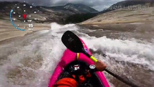 与来自丹麦的杰克逊,一起体验惊险刺激的溪流皮划艇!